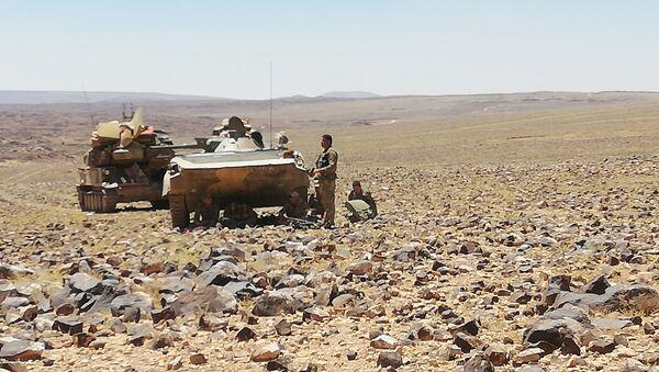 Quân đội Syria đánh tan bọn khủng bố ở As-Suweida - Sputnik Việt Nam
