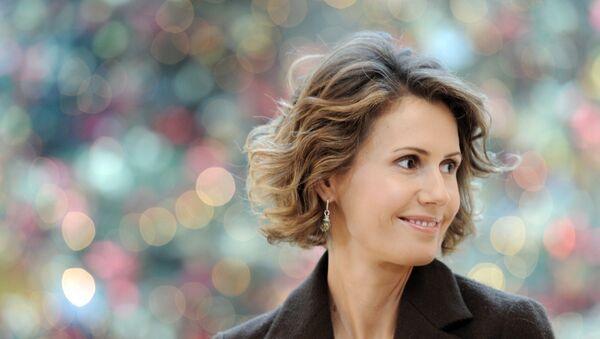 Phu nhân Tổng thống Syria, bà Asma Assad - Sputnik Việt Nam