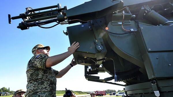lựu pháo 155-mm mới Bogdana - Sputnik Việt Nam