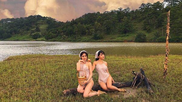 Ê-kíp chụp hình phản cảm ở Đà Lạt - Sputnik Việt Nam