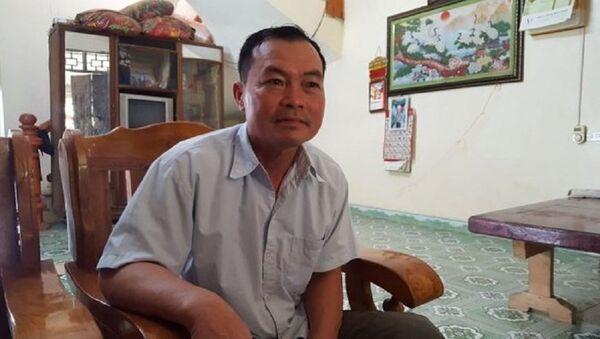 Ông Phùng Quý Mão, Chủ tịch UBND xã Kim Thượng. - Sputnik Việt Nam