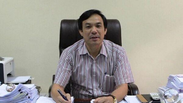 Ông Vũ Đức Kính - Phó chủ tịch UBND TP. Thanh Hóa - Sputnik Việt Nam
