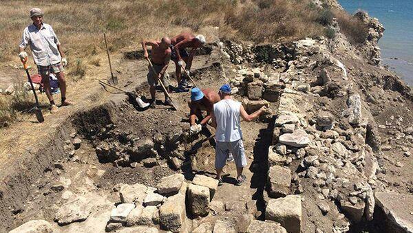 Cuộc khai quật tại Crưm - Sputnik Việt Nam