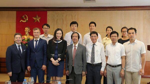 Chuyến thăm của đoànĐại học Tổng hợp Liên bang Viễn Đông (FEFU) đến Hà Nội - Sputnik Việt Nam