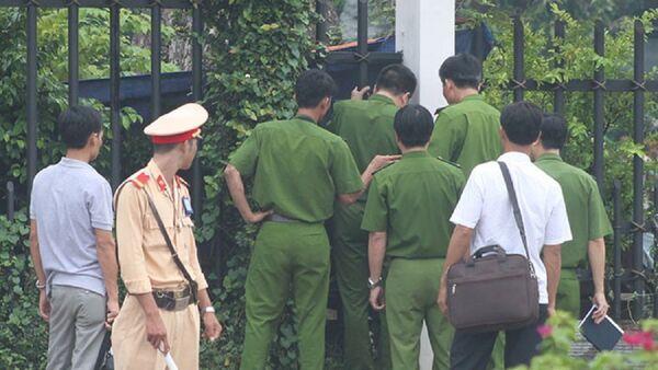 Công an khám nghiệm hiện trường - Sputnik Việt Nam