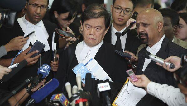 Luật sư của Đoàn Thị Hương - Hisyam Teh Poh Teik và Naran Singh - Sputnik Việt Nam