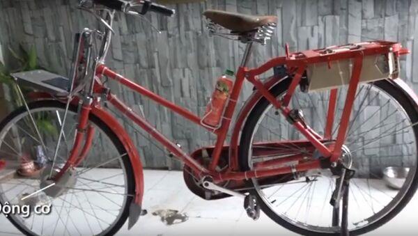 Cậu học trò Sài Gòn chế xe đạp quẹt thẻ từ, tự bật đèn - Sputnik Việt Nam