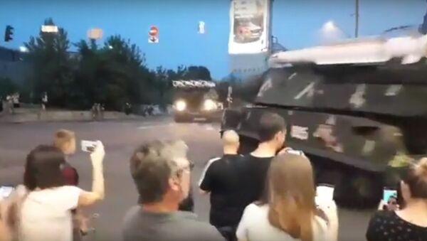 Vụ tên lửa Buk đâm vào tòa nhà ở Kiev - Sputnik Việt Nam