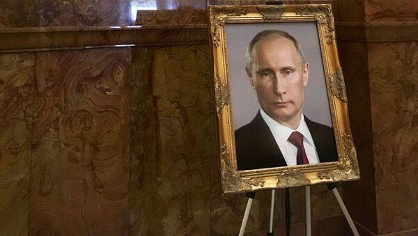 Chân dung Putin trong điện Capitoll - Sputnik Việt Nam