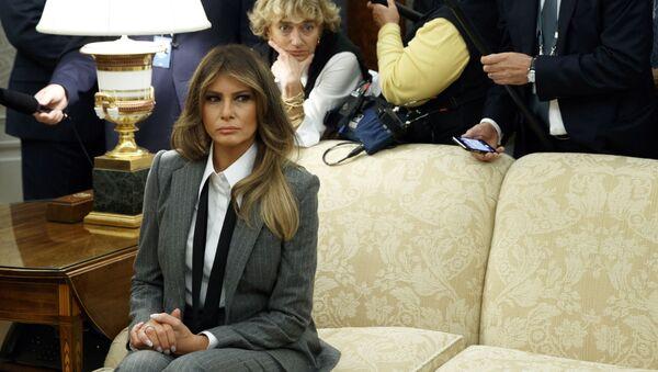 Melania Trump trong Nhà Trắng - Sputnik Việt Nam