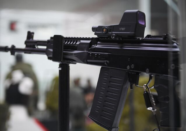 Kalashnikov trình làng súng trường AK-308