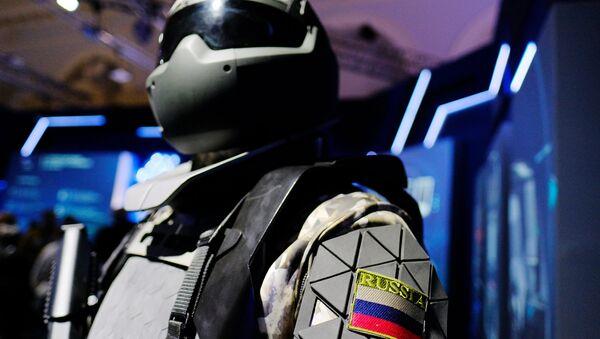 Quân đội-2018 sẽ cho ra mắt bộ xương ngoài người lính của tương lai - Sputnik Việt Nam
