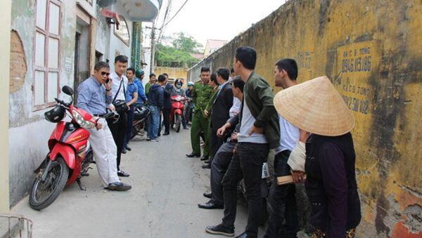 Công an bắt các đối tượng tại phường Trần Tất Văn - Sputnik Việt Nam