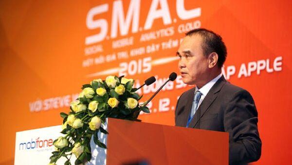 Ông Cao Duy Hải bị miễn nhiệm vị trí Tổng giám đốc MobiFone - Sputnik Việt Nam