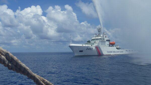 Tàu Trung Quốc ở gần Bãi cạn Scarborough, Biển Đông - Sputnik Việt Nam