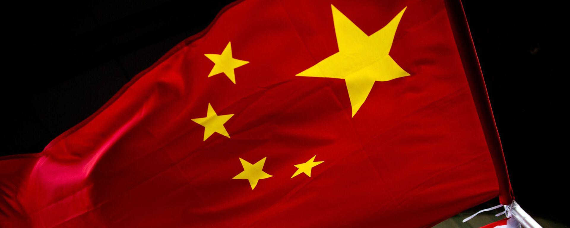 Quốc kỳ Mỹ và Trung Quốc - Sputnik Việt Nam, 1920, 12.09.2021