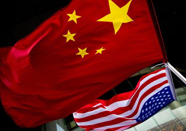 Quốc kỳ Mỹ và Trung Quốc