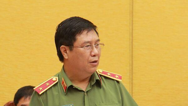 Trung tướng Nguyễn Ngọc Anh, Cục trưởng Cục Pháp chế và cải cách hành chính tư pháp, Bộ Công an - Sputnik Việt Nam
