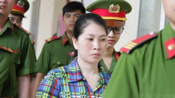 Bị cáo Hàng Thị Hồng Diễm. - Sputnik Việt Nam