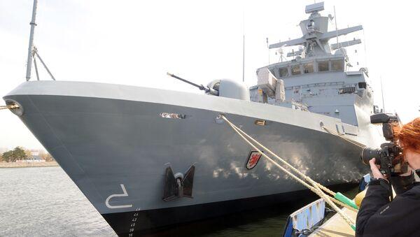 Tàu Braunschweig - Sputnik Việt Nam