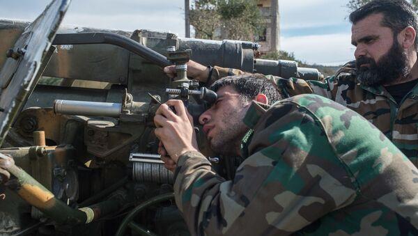 Сирийская армия в провинции Идлиб - Sputnik Việt Nam