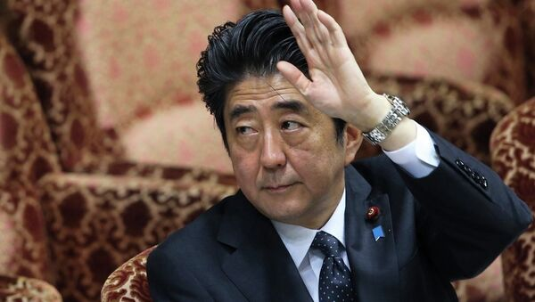 Thủ tướng Nhật Bản Shinzo Abe - Sputnik Việt Nam