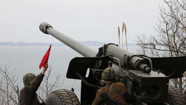 North Korean artillery - Sputnik Việt Nam