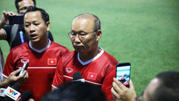 HLV đội tuyển Olympic Việt Nam Park Hang Seo. - Sputnik Việt Nam