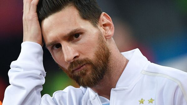 Cầu thủ Argentina Lionel Messi - Sputnik Việt Nam
