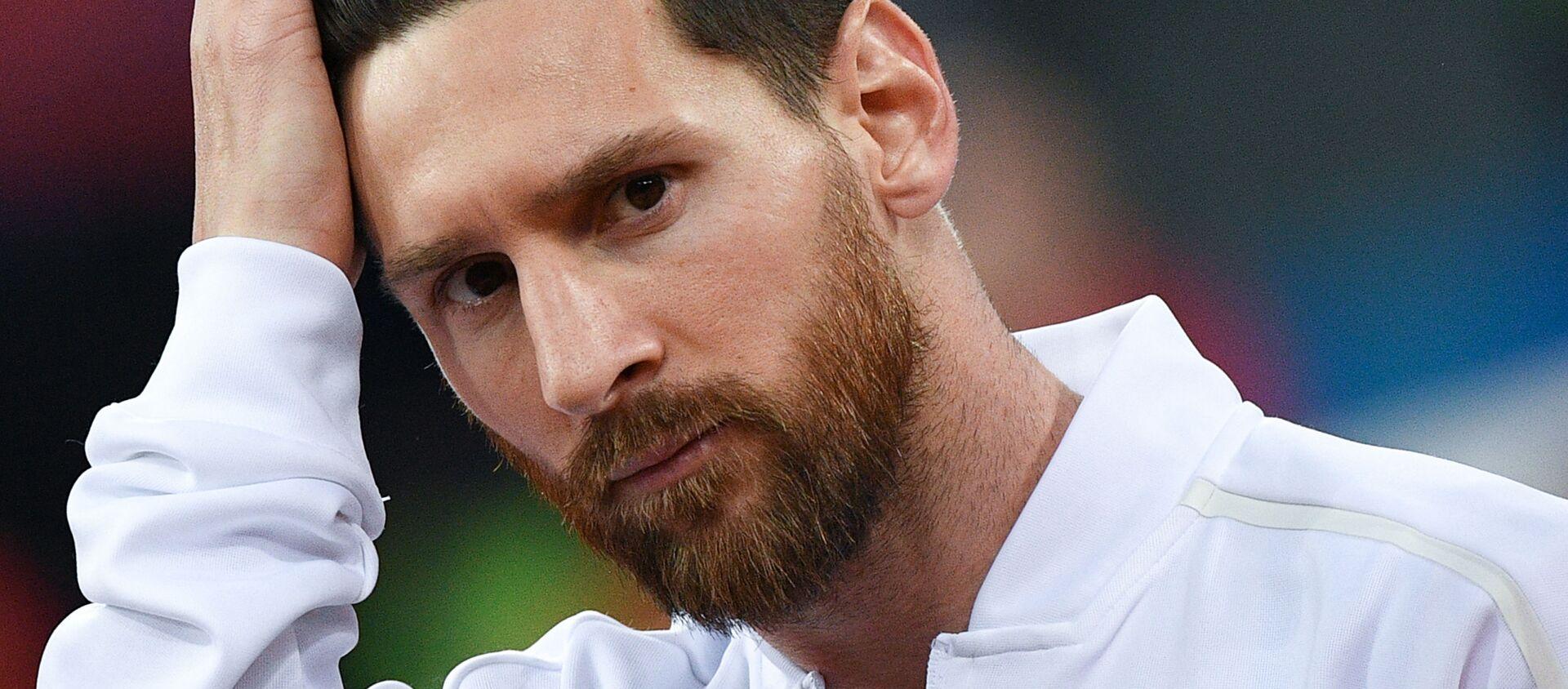 Cầu thủ Argentina Lionel Messi - Sputnik Việt Nam, 1920, 31.12.2019