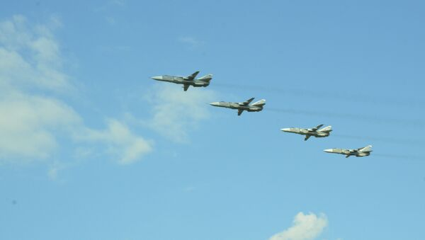 Máy bay ném bom tiền tuyến Su-24M  - Sputnik Việt Nam