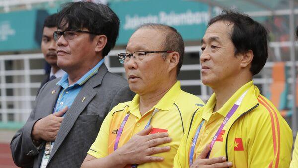 Huấn luyện viên Park Hang-seo - Sputnik Việt Nam