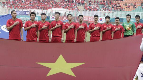 Đội tuyển bóng đá Olimpic của Việt Nam tại ASIAD - Sputnik Việt Nam