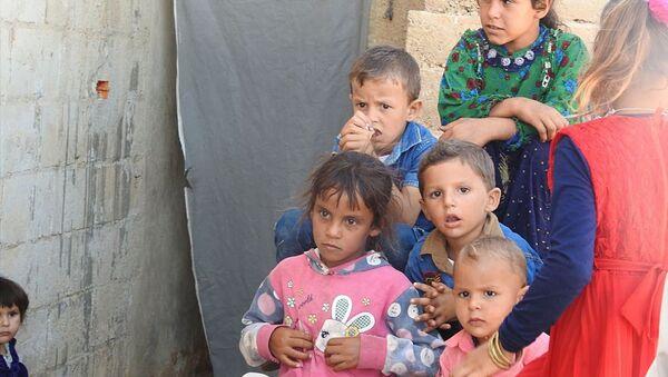 Những người tị nạn ở Idlib - Sputnik Việt Nam