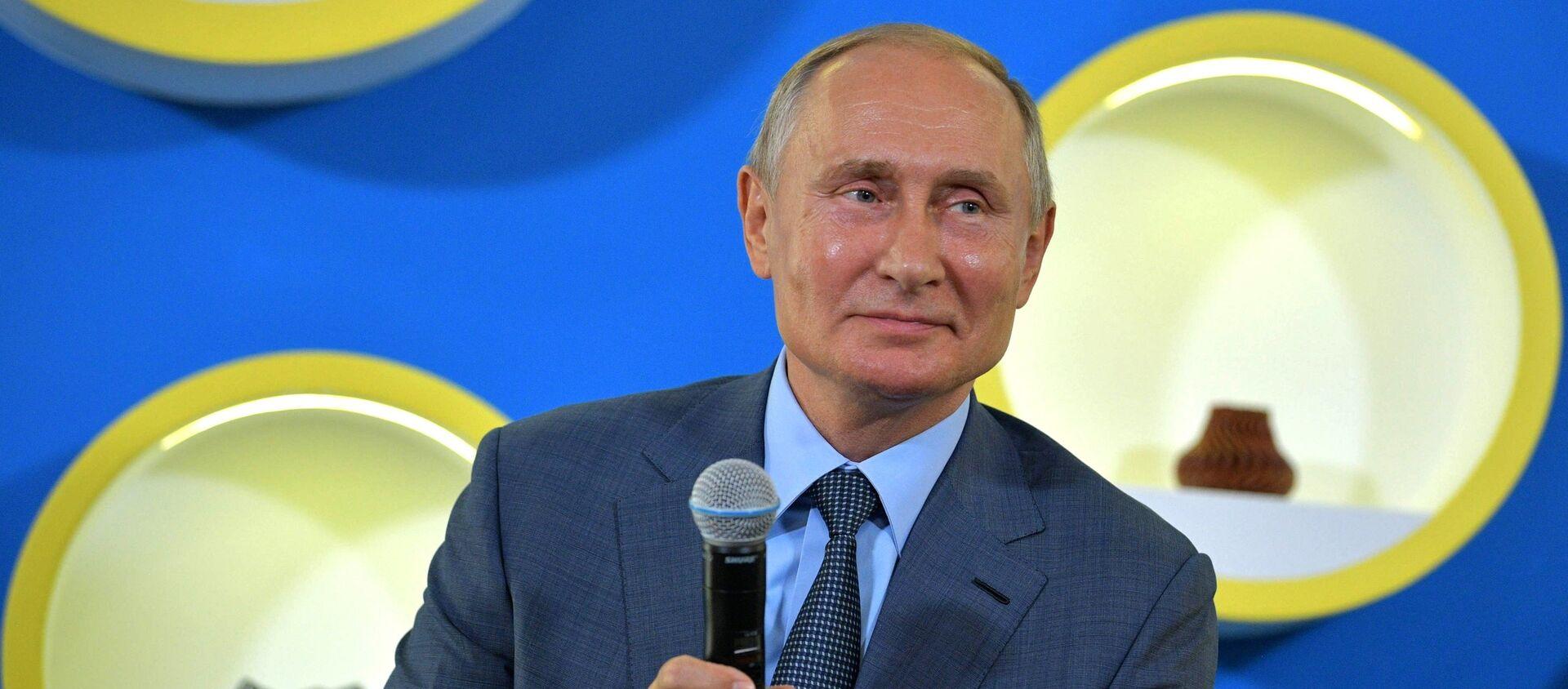 Vladimir Putin - Sputnik Việt Nam, 1920, 01.09.2018
