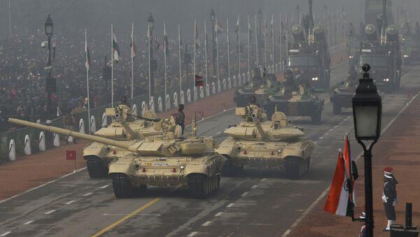Xe tăng T-90 Ấn Độ - Sputnik Việt Nam
