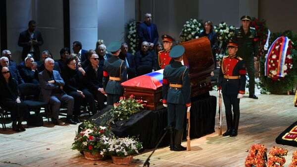 Lễ truy điệu của ca sĩ Iosif Kobzon - Sputnik Việt Nam