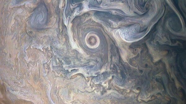 NASA công bố bức ảnh mây đẹp lạ thường trên sao Mộc - Sputnik Việt Nam