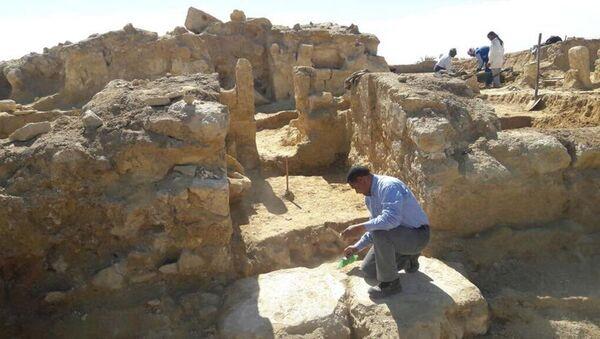 Cuộc khai quật ở Ai Cập - Sputnik Việt Nam