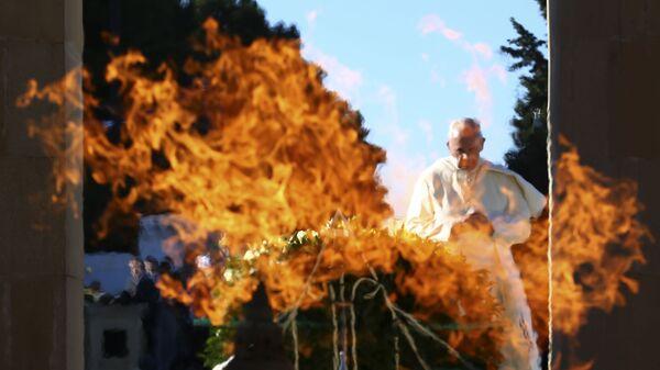 Đức Giáo Hoàng Phanxicô ở Baku, Azerbaigian - Sputnik Việt Nam