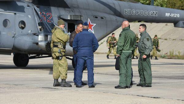 Quân nhân Nga và Serbia - Sputnik Việt Nam
