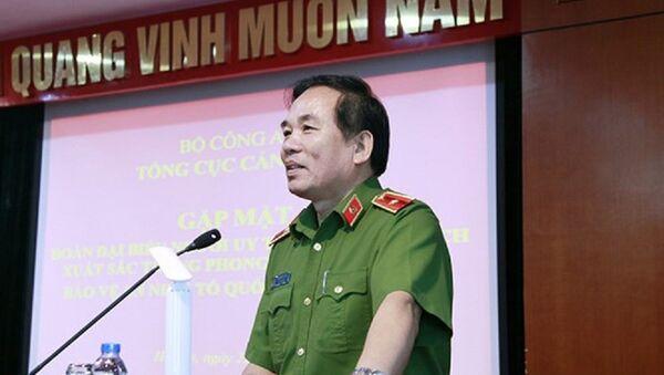 Thiếu tướng Vũ Xuân Viên, tân Giám đốc Công an TP Đà Nẵng - Sputnik Việt Nam