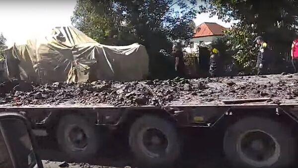 Xe bọc thép của Ả Rập mang tên lửa Nga bị tai nạn ở gần thành phố Tula - Sputnik Việt Nam