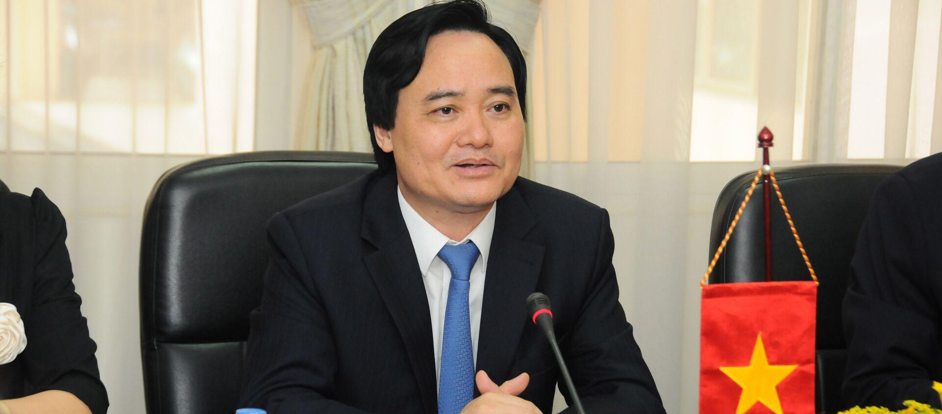 Bộ trưởng Phùng Xuân Nhạ - Sputnik Việt Nam, 1920, 04.04.2019