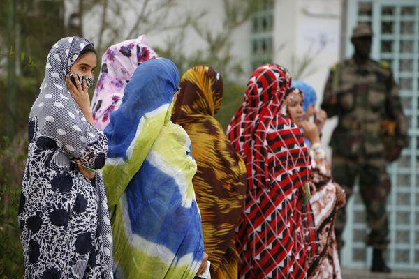 Mauritania – Được ưa chuộng hơn cả là những cô gái với thân hình nảy nở. - Sputnik Việt Nam
