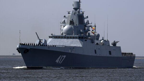 Tàu khu trục của 22350 dự án Đô đốc Gorshkov - Sputnik Việt Nam