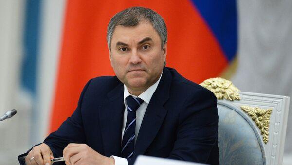 Vyacheslav Volodin - Sputnik Việt Nam