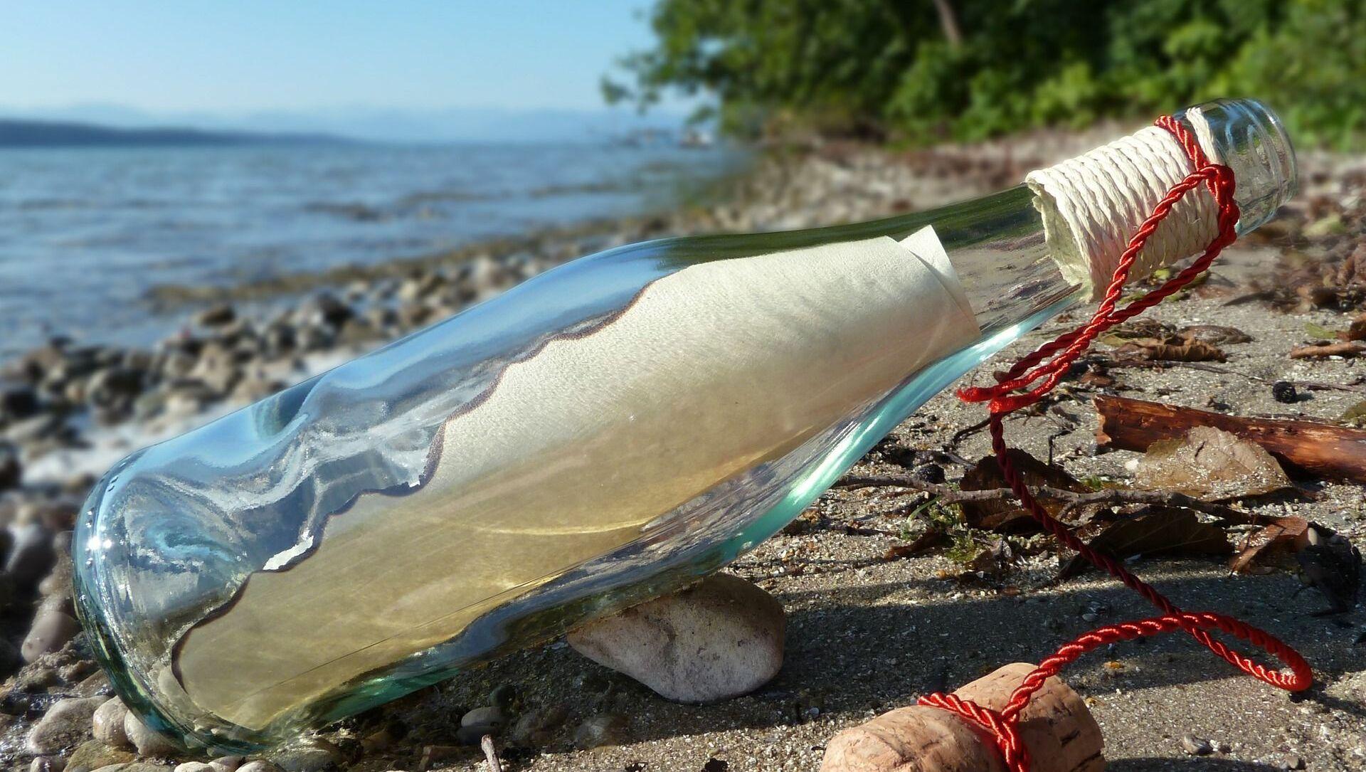 Бутылка с посланием, выброшенная на берег - Sputnik Việt Nam, 1920, 02.04.2021