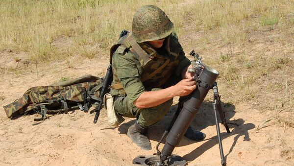 Российский 82-мм миномет 2Б25 Галл - Sputnik Việt Nam