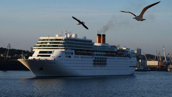 Tàu du lịch Costa NeoRomantica đã tới Vladivostok - Sputnik Việt Nam